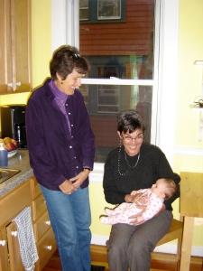 Cynthia, Gail, and Clara