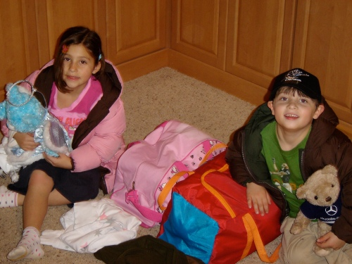 Molly and Kyle prep for their trip to Boston